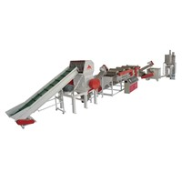 PP, PE film Recycling & cleaning production line