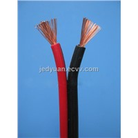 PVC Insulated Black and Red Speaker Cable
