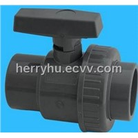 PVC/Plastic Single Union Ball Valve