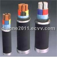 PVC insulated and sheathed cable