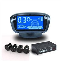 Parking Assist System with 360 Degrees Rotatable LCD Display