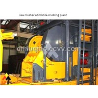 Portable Crushing Plant with Jaw Crusher