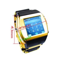 Quad Band Touch Screen Watch Phone with Digital Camera