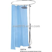Single lever floor-standing bath/shower shower mixer