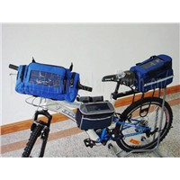 Solar Bicycle Bag (BLUE)