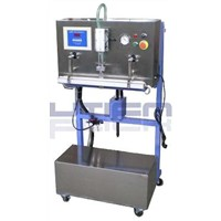 VERTICAL EXTERNAL VACUUM GAS FILLING PACKAGING MACHINE