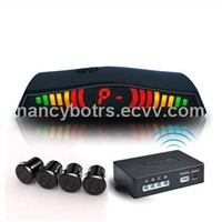 Wireless LED Parking Sensors System