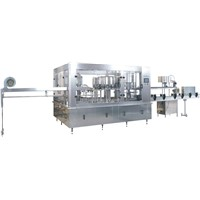 XGF Automatic 3 in 1 water filling machine