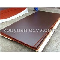 brown shuttering plywood