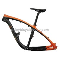 carbon mtb frame   new model