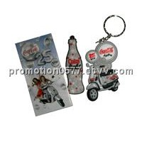 customized soft PVC key chain promotion