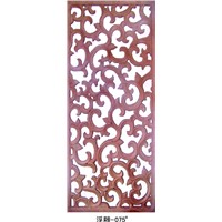 decorative interior wall Carved boards