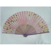 fashionable silk and bamboo fans for lady