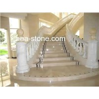 Granite Marble Balustrade Handrail and Steps