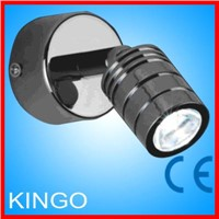 high bright 1x1w led wall lamp