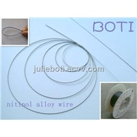 nitinol wire -- shape memory and superelasticity