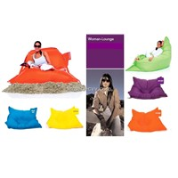 Outdoor Beanbag Chair with Vinyl Material