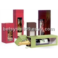 packing wine boxes paper box