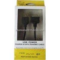 Psp Go USB Power Charger & Data Transmit Cable/Power Cable