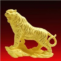 Gold Plated Home Decoration - Tiger