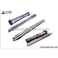 twin or parallel screw barrel 06