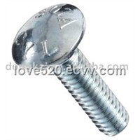 Zinc Plated Steel Carrige Bolt