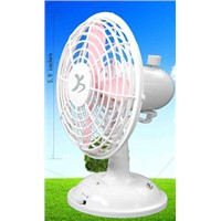 USB Oscillating Mini Desk Fan (F-628)