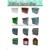 Classic Plastic Ejection Letterbox / Plastic Injection Product / OEM / Odm