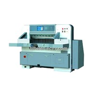 QZYK920D-8 program control double hydraulic double guide paper cutter