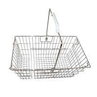 Supermarket Wire Shopping Basket