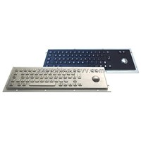 Anti-Vandal Kiosk Metal Keyboard (X-BP66B)