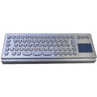 IP65 Anti-Vandal Stainless Steel Keyboard (X-PP71B)