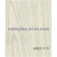 6902-01A PVC Wood Grain Film/Pvc wood veneer/engineered veneer