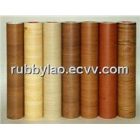PVC High Gloss Film/Pvc Wood Veneer/Engineered Veneer (Ak101)