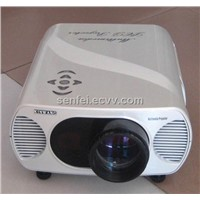 1080p TFT LCD Projector with LED Lamp with HDMI, TV, VGA..