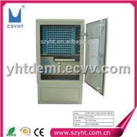 144 cores Outdoor fiber optic cross connect cabinet