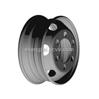 17.5*6.00 wheels,tubeless wheels, steel wheels