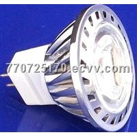 1x1W LED Spotlight