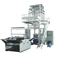 2SJ-MD Double-layer co-extrusion rotary die film blowing machine set