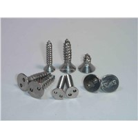 2 Hole Flat Head Tapping Screws