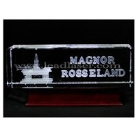 3D Glass Gift Laser Engraving Machine