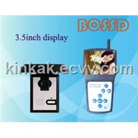 "3.5"" Digital Wireless Video Door Phone for Villa"