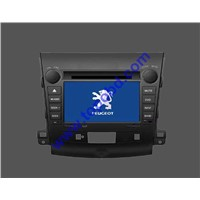 7 INCH free ship CAR DVD PLAYER WITH GPS FOR PEUGEOT 4007