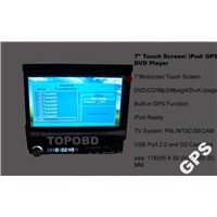 7 inch Touch Screen/ iPod/ GPS car DVD Player