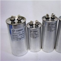 AC single-phase motor capacitor