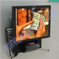 Barcode Scanning Advertising Player, digital signage.