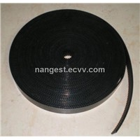 Black Embroidery Machine Timing Belt