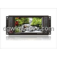 car CHRYSLER audio System Contains GPS DVD Bluetooth with Touch Screen