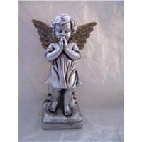 Ceramic Praying Angel Figurines