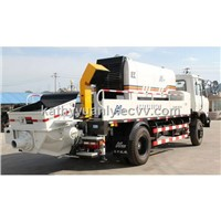 Concrete Pump Mounted on Truck / Concrete Truck